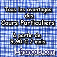 cours en ligne i francais